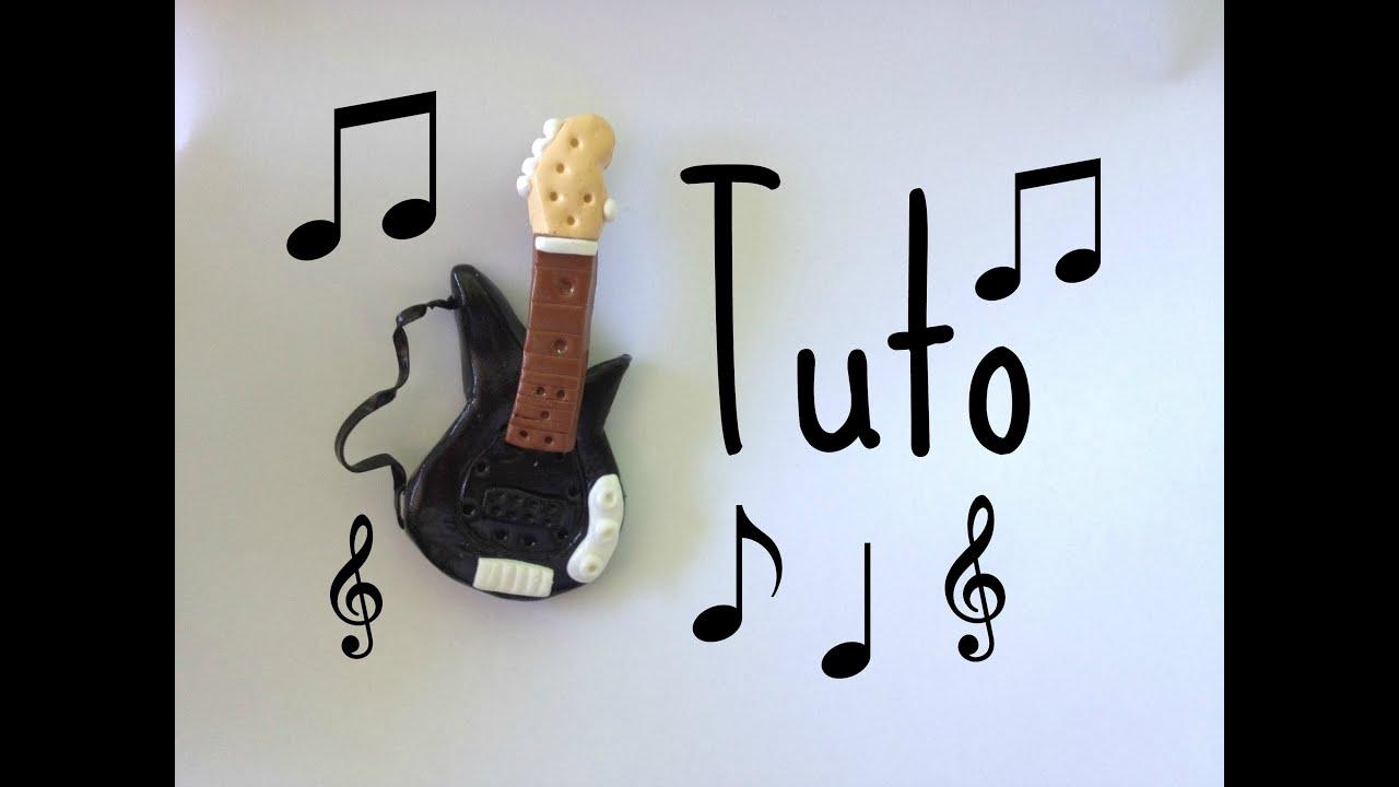 Tuto fimo guitare electrique youtube - Tuto de pate fimo ...