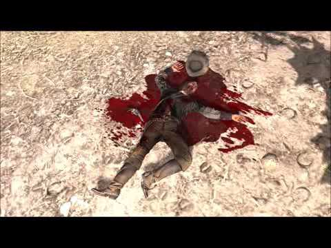 Red Dead Redemption John Marston Death Sad