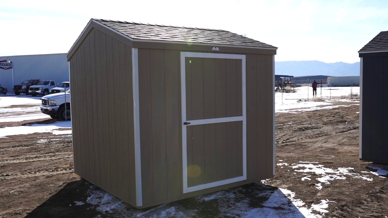 The Shed Yard - 8x8 Economy A Frame Shed