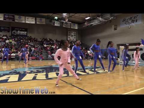 Horace Mann Sapphires Jr Floor Show - 2017 Battle in the Apple BITA