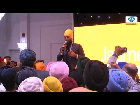 011017 Sikh Channel Canada: Jagmeet Singh NDP Leadership Victory