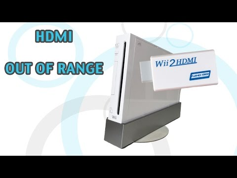 Wii2HD - FIXING HDMI OUT OF RANGE ERROR