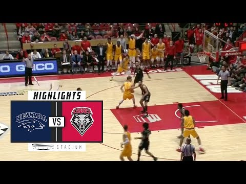 No. 6 Nevada vs. New Mexico Basketball Highlights (2018-19) | Stadium