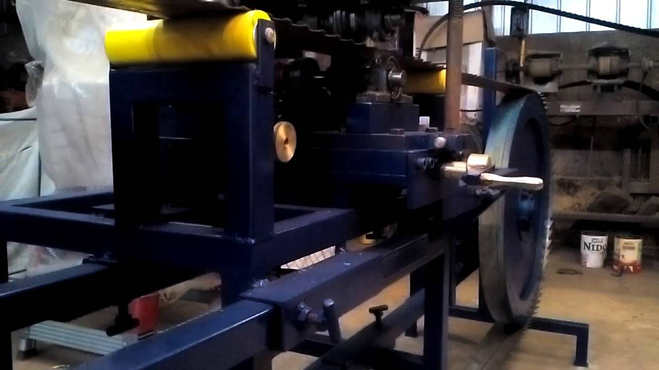Tensionadora de sierras de banda para la industria de la - Sierra para cortar madera ...