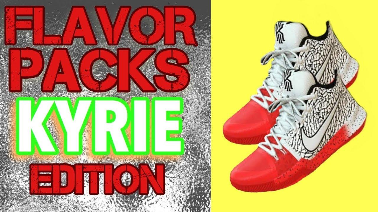 5b509d78e6fe9e NBA 2K18 Shoe Creator - Kyrie Irving Customs - Flavor Packs Episode ...
