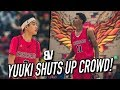 "5'5"" Yuuki Okubo SHUTS UP Crowd MOCKING His Height! Shareef BACK FROM INJURY + DJ Houston BUCKETS"
