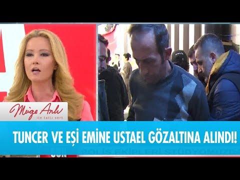 Beklenen haber geldi: Tuncer ve Emine gözaltına alındı! - Müge Anlı ile Tatlı Sert 9 Ocak 2019