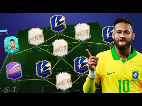 ANALIZANDO PLANTILLAS DE FUTBOLISTAS! NEYMAR, SAINT MAXIMIN, AUBAMEYANG.. #1 FIFA 21 ULTIMATE TEAM