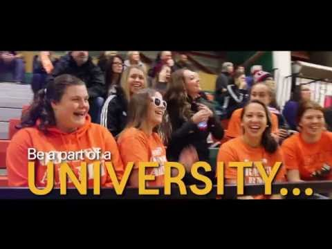 Be part of a UNIVERSITY…
