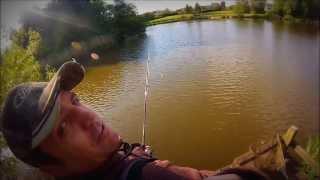 Fishing with Albert (Abu Garcia Vendetta Spinning Rod Test) Gopro Hero 3 (13)