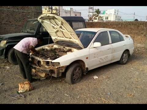 Mitsubishi Lancer Petrol in Scrap. Anyone wants spares mention in comment section