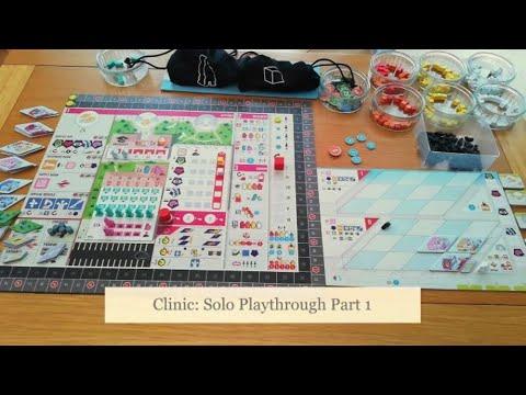Clinic: Solo Playthrough Part 1 - Diagonal Move