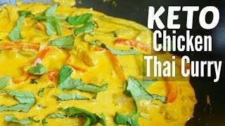 Thai Red Curry | Low Carb Chicken Thai Curry KETO Recipe