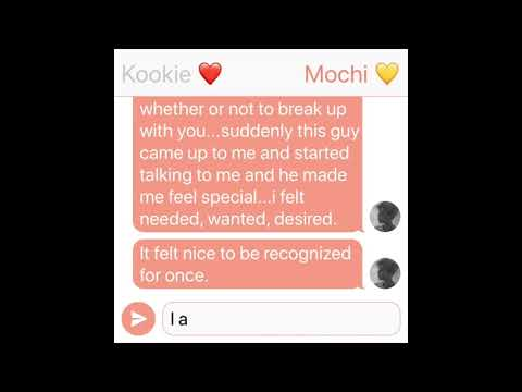 Jikook Texting Story (EP162) You Don't Love Me Anymore