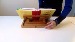 Hala Flip Bamboo Cookbook Holder Review By Jenny