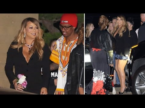Mariah Carey And Nick Cannon Reunite For Mother's Day Dinner