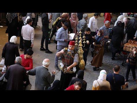 شاهد: بائع عصير في سوريا يستعد لشهر رمضان مع اشتداد حدة الأزمة الاقتصادية…  - 14:58-2021 / 4 / 12
