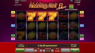 Sizzling Hot 6 Online Casino - Nice Run 5€ Einsatz
