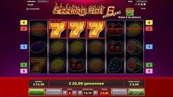 Sizzling Hot 6 Online Casino - Nice Run 5€ Einsatz