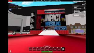 Roblox Wrestling Impact Show :1