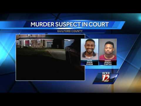 The suspect in a Greensboro shooting will be in court today
