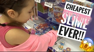 Video CHEAPEST SLIME EVER AT PARTY CITY!!! | VLOG download MP3, 3GP, MP4, WEBM, AVI, FLV Desember 2017