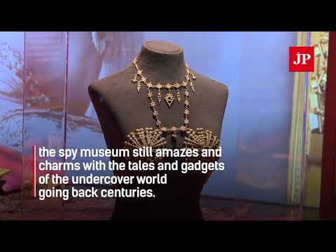 Inside look into the world of espionage at Washington's new spy museum