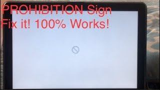 FiX! Prohibition Sign MacBook (How to set up new IOS MacBook) thumbnail