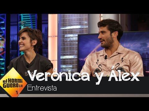 """Álex García: """"Verónica es la actriz más talentosa con la que he trabajado"""" - El Hormiguero 3.0"""