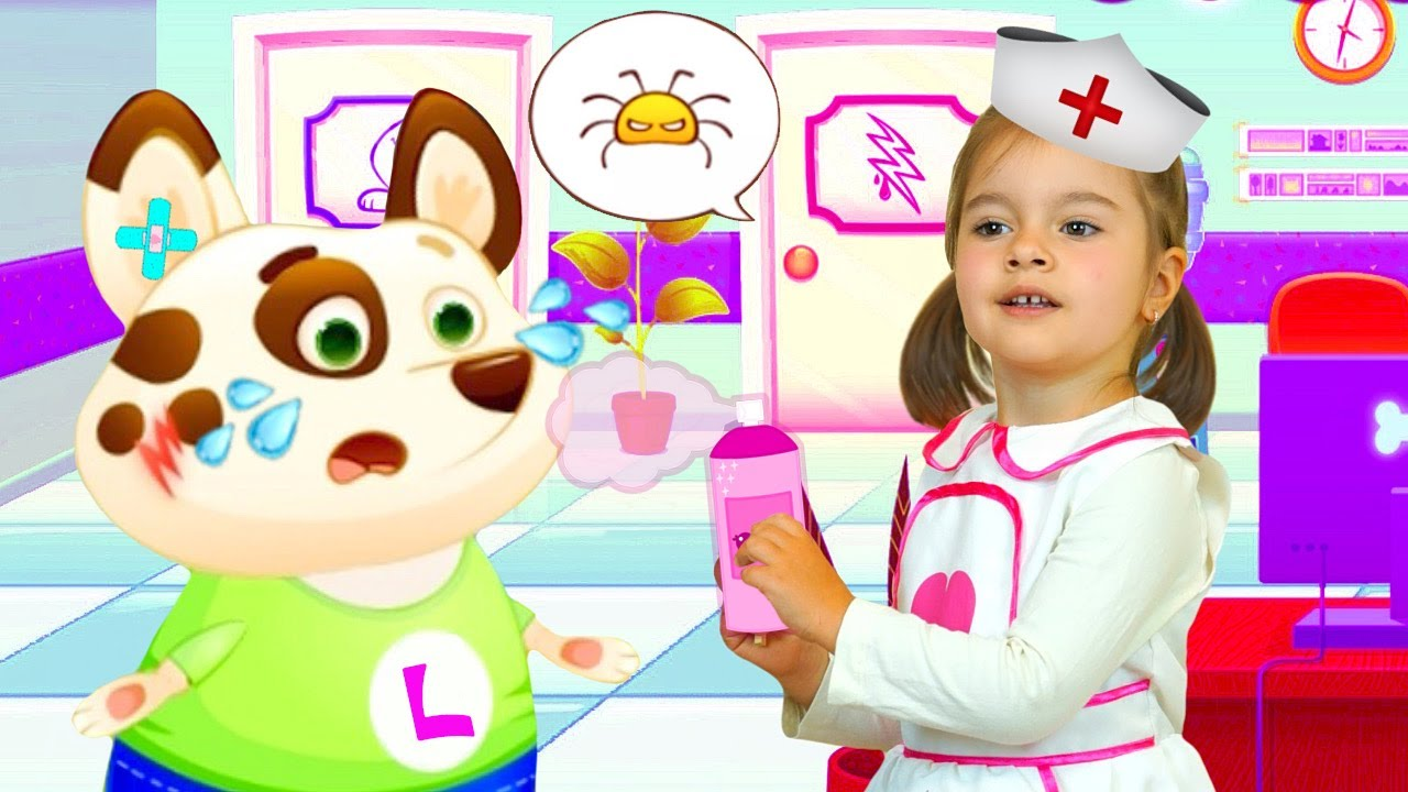 Собачка Duddu Сново Попал в Больницу | Арина как Доктор Лечит Песика Дуду в Игре