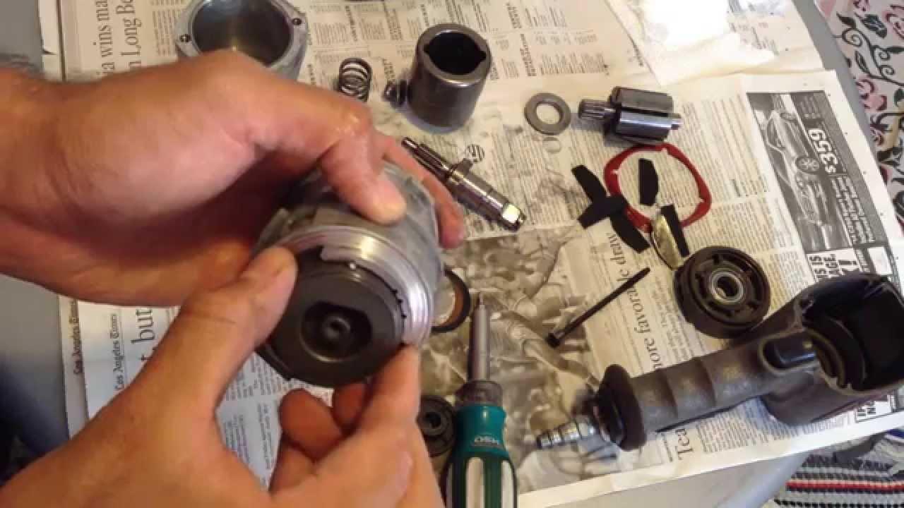 Nitrocat 1200k Impact Wrench Service Rebuild Repair Fix Aircat