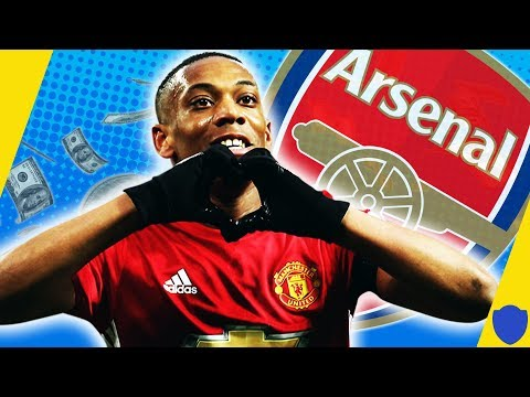 MARTIAL TO REPLACE SANCHEZ AT ARSENAL? TOTALLY INTERESTING TRANSFER STORIES