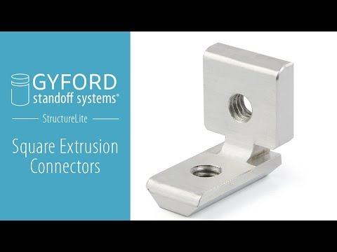 Gyford Square Extrusion Connectors