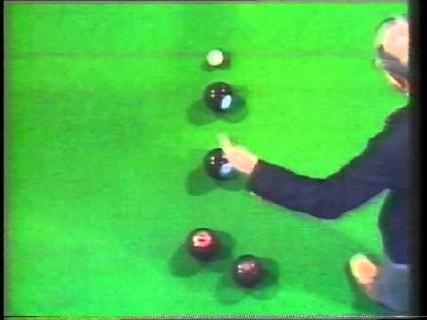 World Indoor Bowls Championship Final 1980 (1) - David Bryant vs Philip Chok