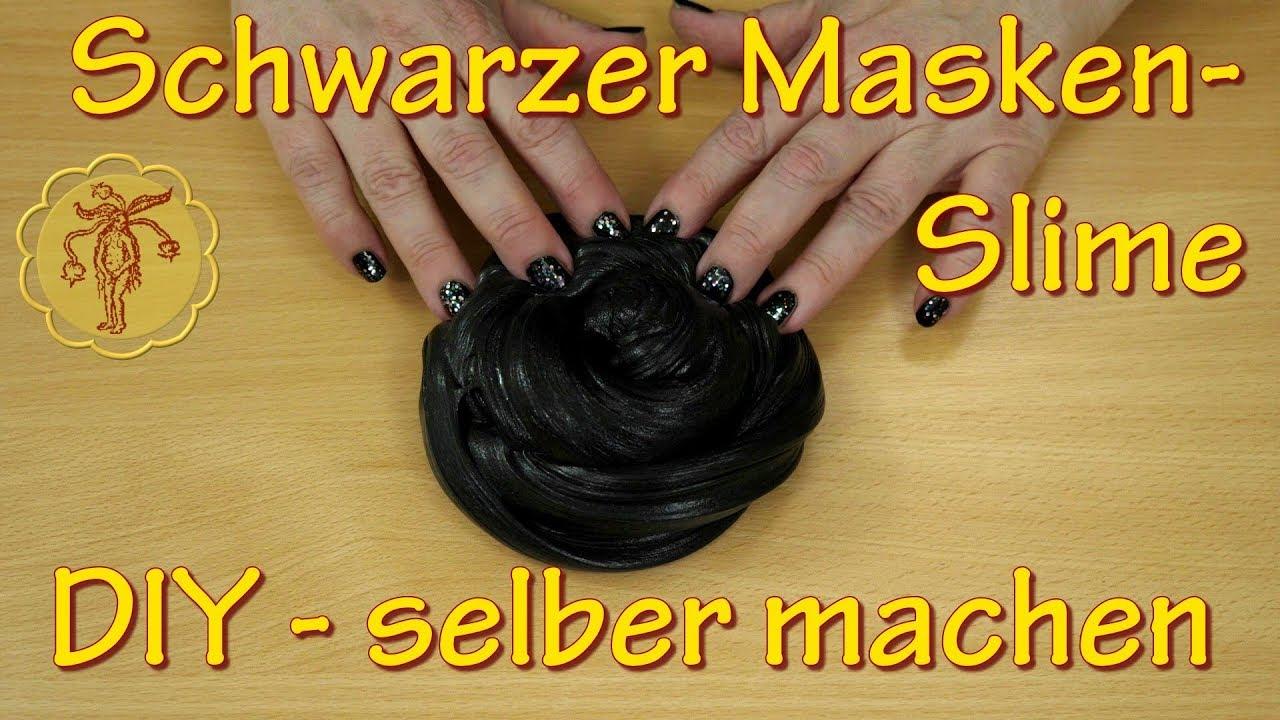 slime schwarzer masken slime selber machen diy youtube. Black Bedroom Furniture Sets. Home Design Ideas