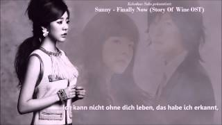 [HD] Sunny (SNSD) - Finally Now [German Subs]