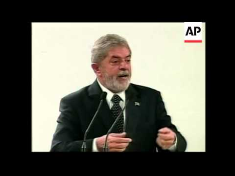 President Lula and Petrobras chief comment on nationalisation