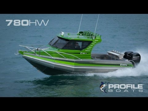 Profile Boats Video 780HW Fishing Boat
