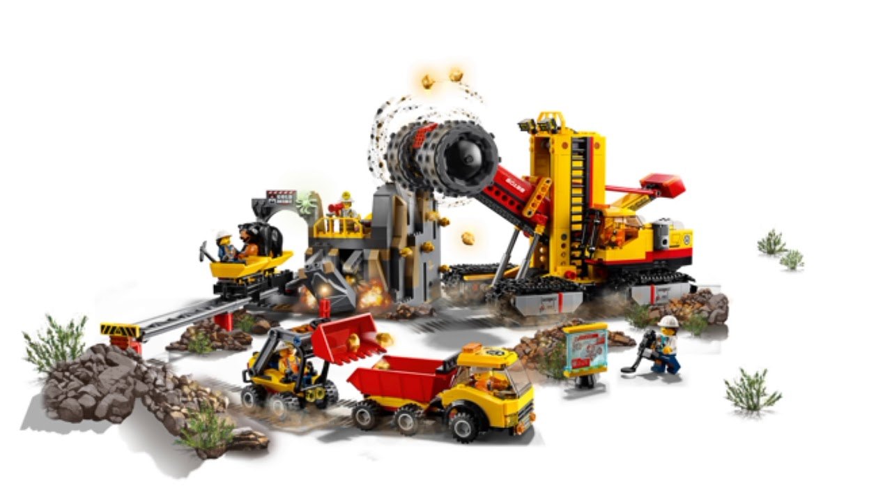 lego news lego city 2018 winter sets mining experts site. Black Bedroom Furniture Sets. Home Design Ideas