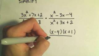 Rational Expressions Multiplying and Dividing Ex 2