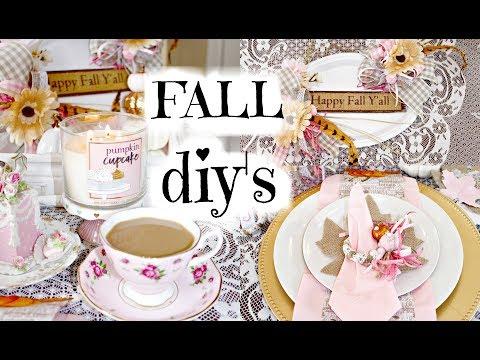 "🍁6 DIY FALL DOLLAR TREE TUTORIALS / ""I Love Fall"" ep. 4 🍁"