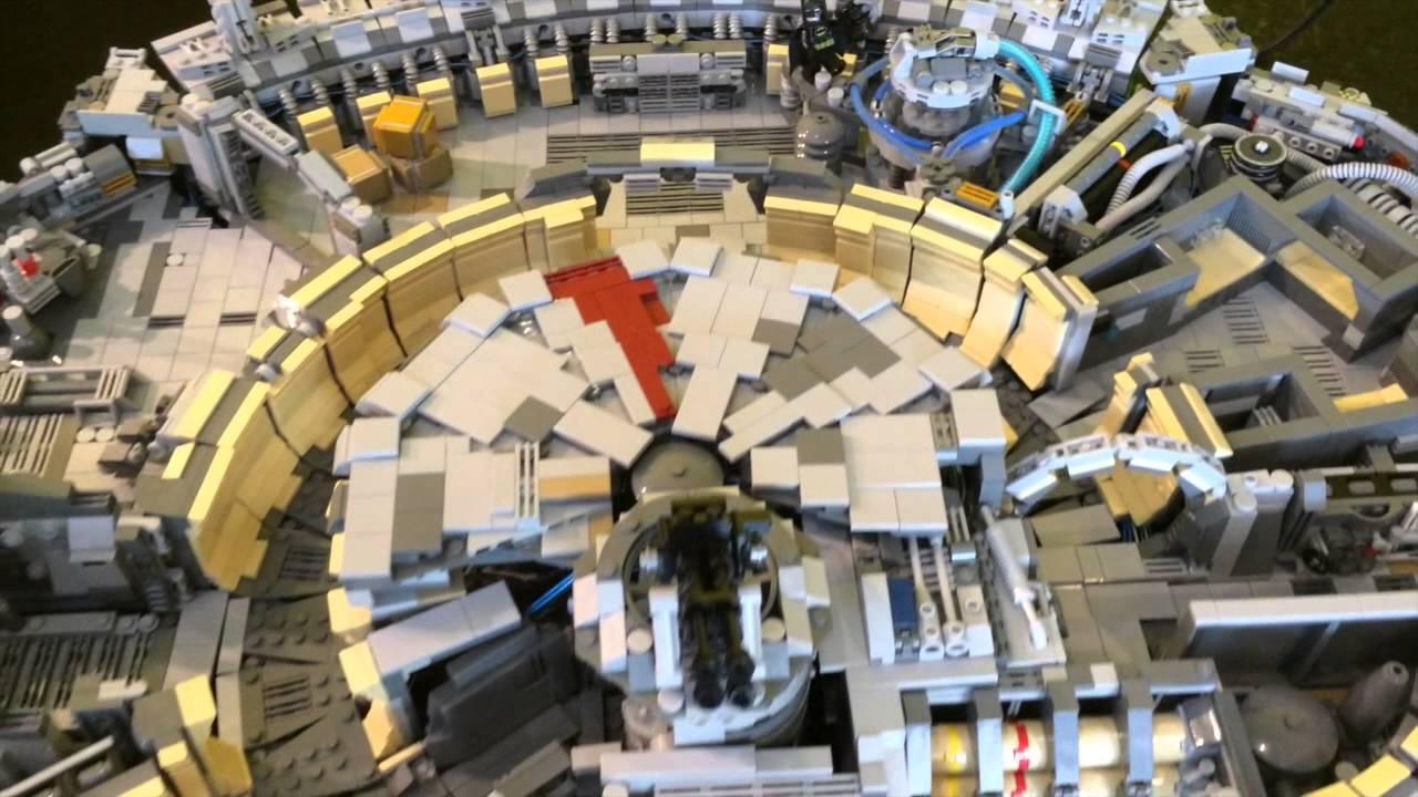 Ultra Detailed Lego Millennium Falcon Youtube