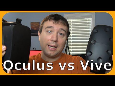 Oculus vs Vive 🎮 Comparing Virtual Reality