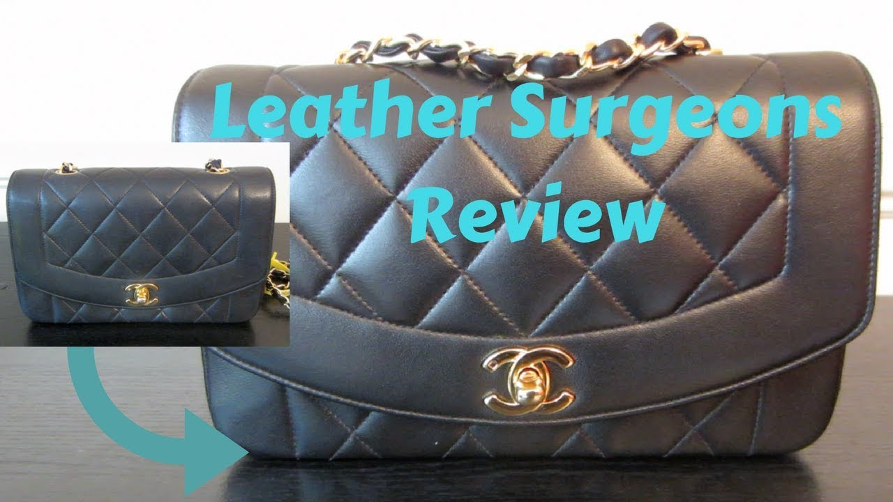 93b112943c0dc8 PART 2 | Leather Surgeons Review | Chanel Diana Flap Black Lambskin ...