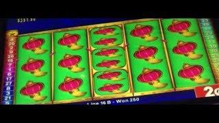 CHINA SHORES Slot Machine LIVE PLAY & FULL SCREEN HIT