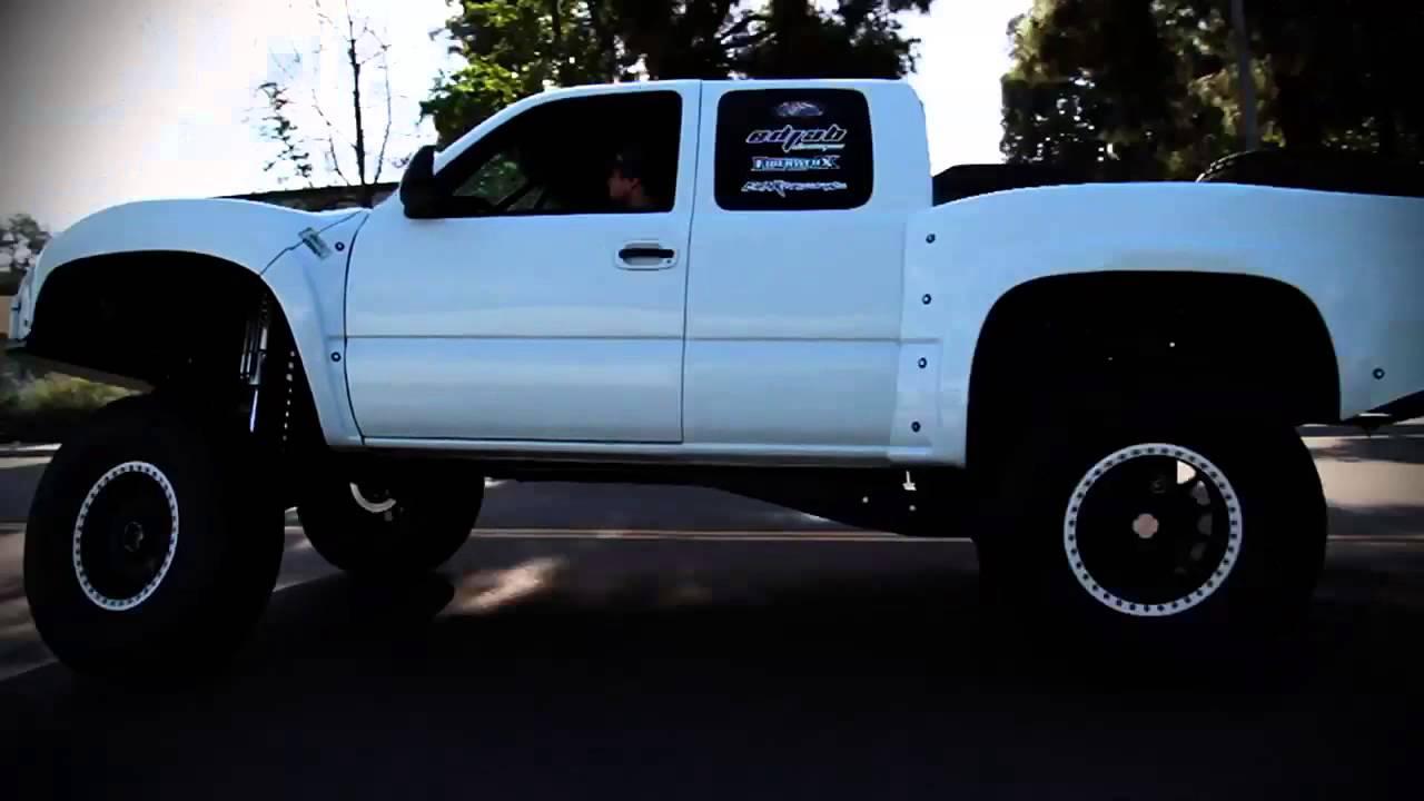All Chevy chevy 1500 prerunner : Prerunner silverado drift - YouTube
