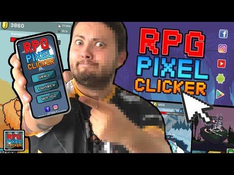 📱 MOJA PIERWSZA GRA NA TELEFON! - Clicker Pixel RPG *Pobierz I Graj!!!*