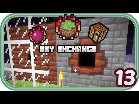 Öl und Stahl - Minecraft Sky Exchange #013 - Deutsch - Chigocraft