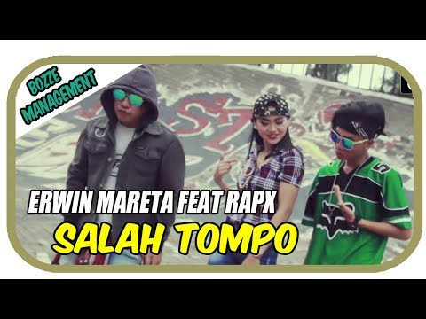 ERWIN MARETA FEAT RapX - SALAH TOMPO [ OFFICIAL MUSIC VIDEO ] HOUSE MIX VER