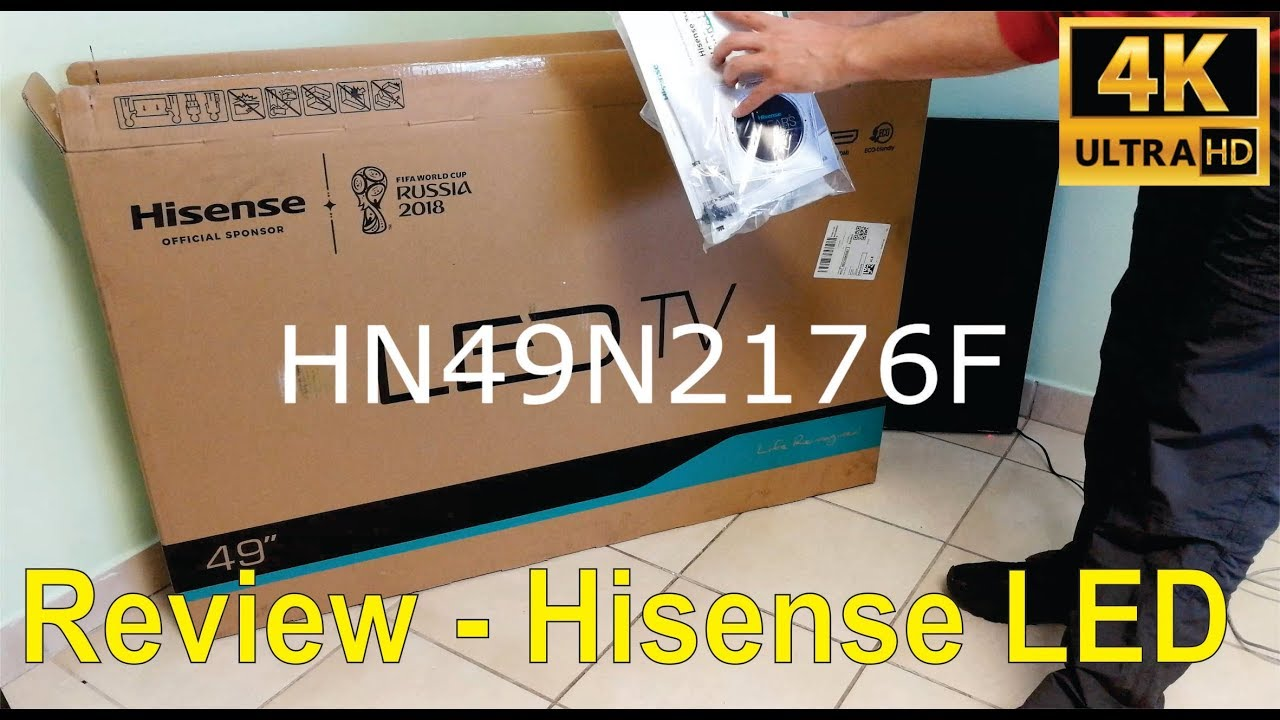 Unboxing and review of the Hisense N2176F 49 inch LED TV